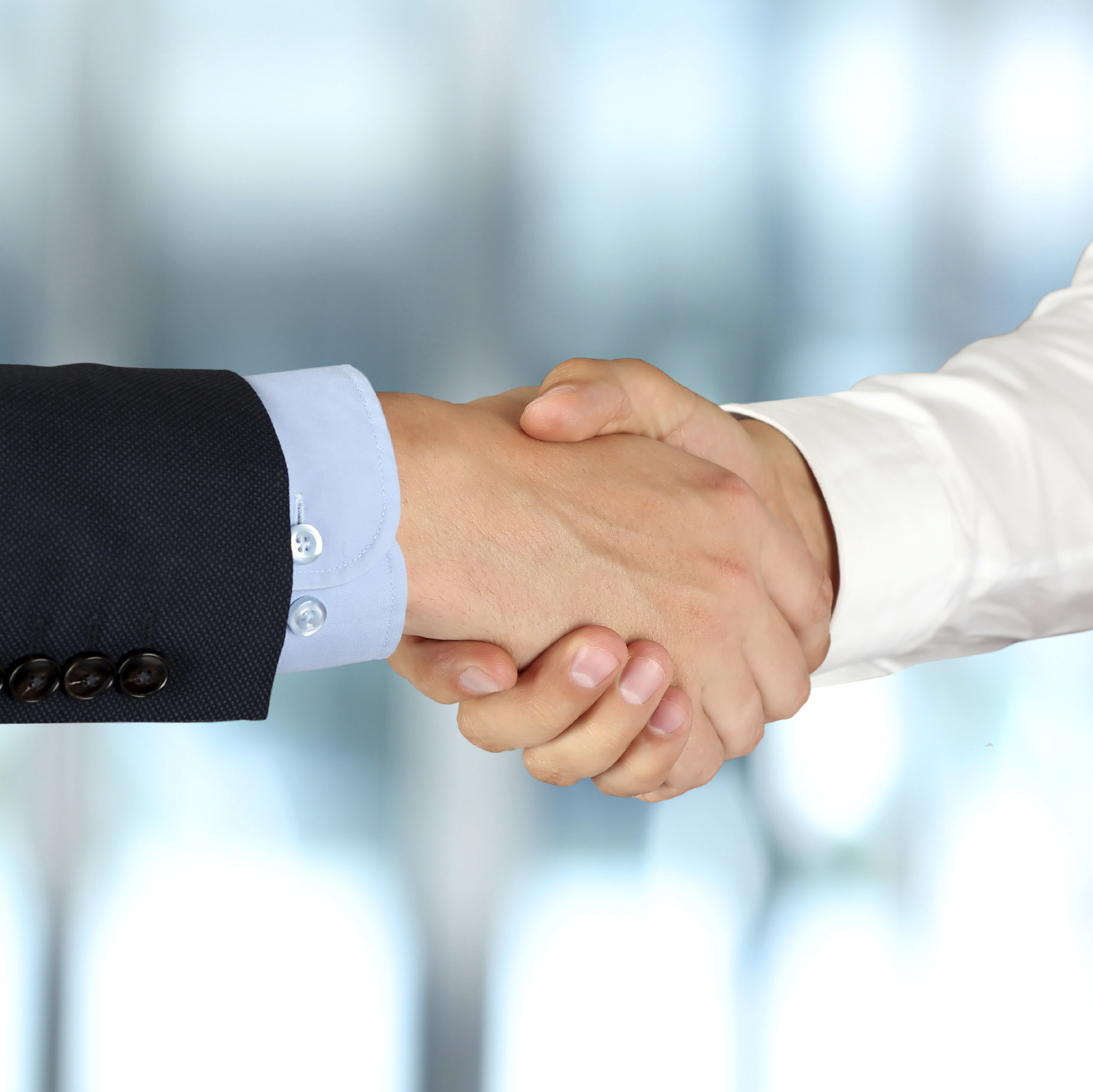 Days of the Handshake Gone!