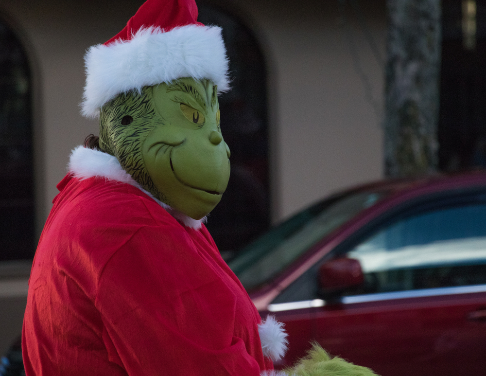 Be Gone Grinch!